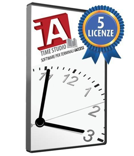 License Time Studio 5x