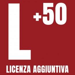 Licenza Aggiuntiva per 50 Varchi