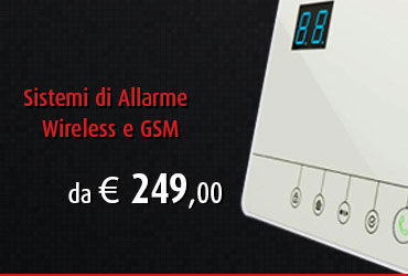 Sistemi di allarme wireless
