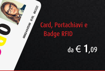 portachiavi elettronici e badge RFID
