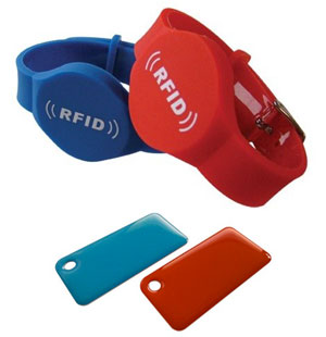 bracciali e badge rfid iaccess
