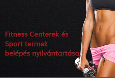 Wellness Központok Belépés Monitorálása