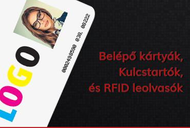 Elektrónikus Kulcstartó és RFID Kártya