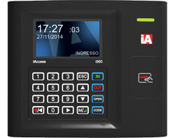Choose iAccess i980, your perfect Timer for employees with RFID Badge Reader